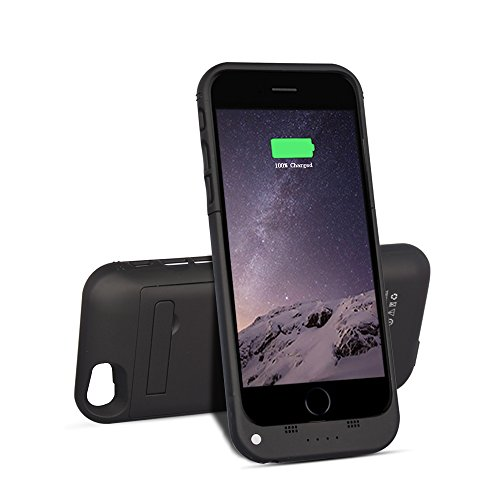 black btopllc charger case for iphone 6 6s 3500mah power bank portable charger 4 7 inch. Black Bedroom Furniture Sets. Home Design Ideas