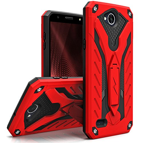 Full-body armor protective case covers all 4 corners and the Front Cover and Built