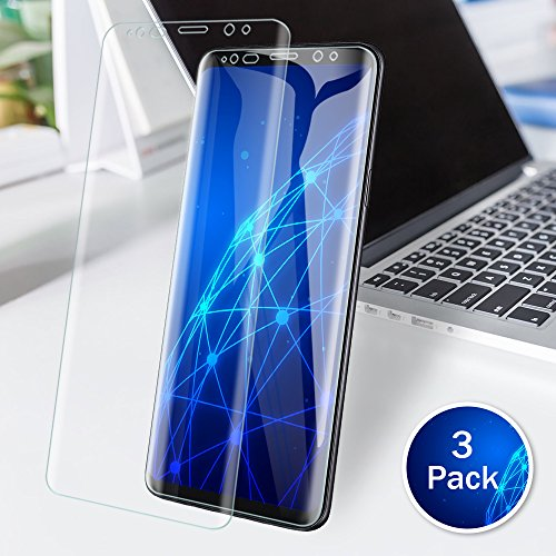 LK 3 PACK Samsung Galaxy S9 Plus Screen Protector Case