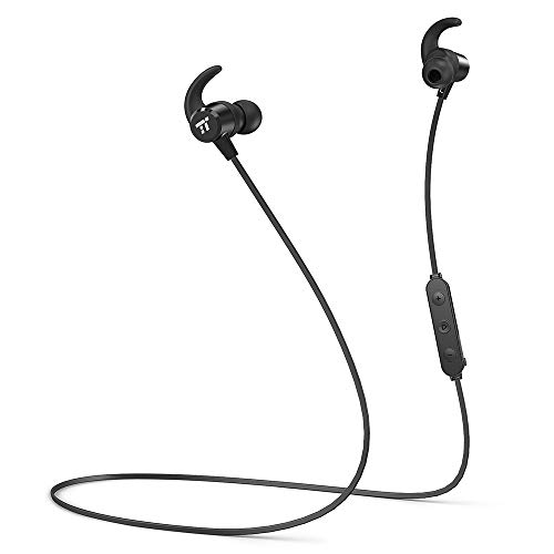 Bluetooth Headphones, TaoTronics Sweatproof Wireless Earphones, IPX6 Waterproof Sports Headphones with 8 Hour Playtime, Bluetooth 4.2 & Magnetic Earbuds, Lightweight Bluetooth Headphones for Running