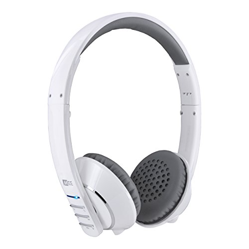 MEE audio Runaway 4.0 Bluetooth Stereo Wireless + Wired Headphones with Microphone White