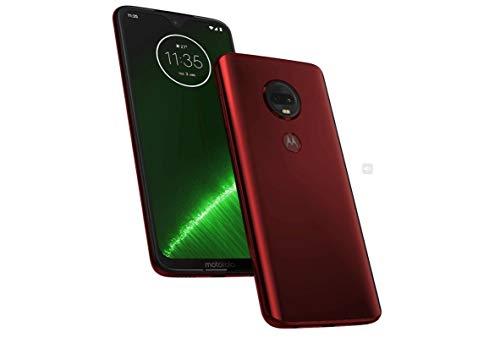 Motorola Moto G7+ Plus 64GB, 4GB RAM Dual SIM 6.2″ 4G LTE GSM Only Factory Unlocked Smartphone International Model XT1965-2 Red