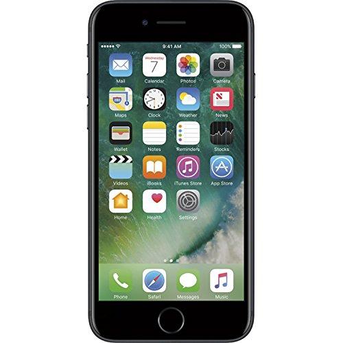 Apple iPhone 7 AT&T, Black, 128 GB Renewed