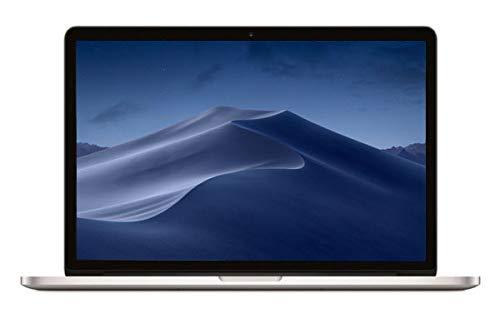 Apple 15 inch MacBook Pro Laptop Retina Display, 2.2GHz Intel Core i7, 16GB RAM, 256GB Hard Drive, Intel Iris Pro Graphics Silver, MJLQ2LL/A Renewed