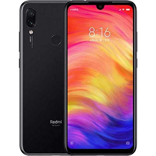 Xiaomi Redmi Note 7 128GB + 4GB RAM 6.3″ FHD+ LTE Factory Unlocked 48MP GSM Smartphone Global Version Space Black
