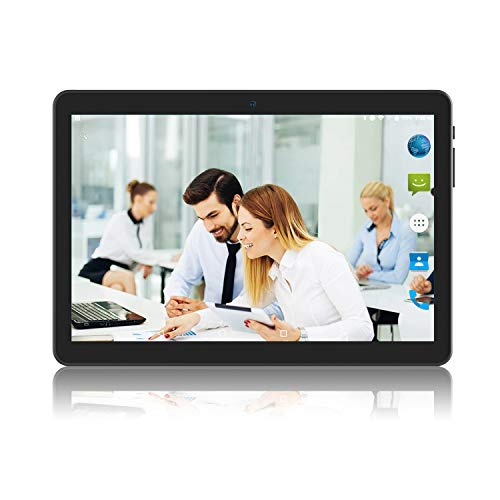 Tablet 10 inch Android Go 8.1, Tablet PC with TF Card Slot and Dual Camera,16GB Storage,5G WiFi,Bluetooth, Black