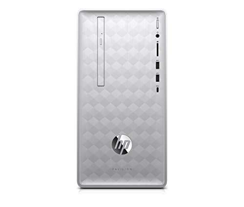 Newest HP Pavilion 590 Desktop Computer, 8th Intel 6 Cores i5-8400, 2.8GHz up to 4.0GHz, 8GB RAM and 16 GB Intel Optane Memory, 1TB HDD, Bluetooth 4.2, WiFi 802.11ac, Win10, Renewed