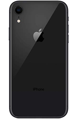 Apple iPhone XR, Fully Unlocked, 64 GB – Black Renewed
