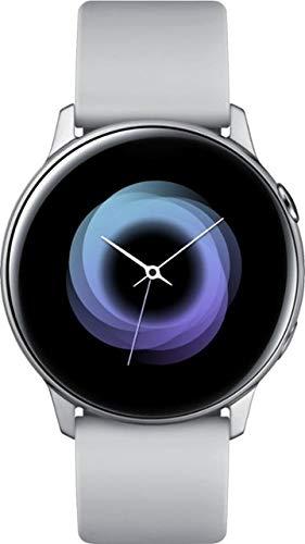 Samsung – Silver – Galaxy Watch Active Smartwatch 40mm Aluminum