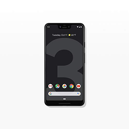Just Black – Pixel 3 XL with 64GB Memory Cell Phone Unlocked – Google