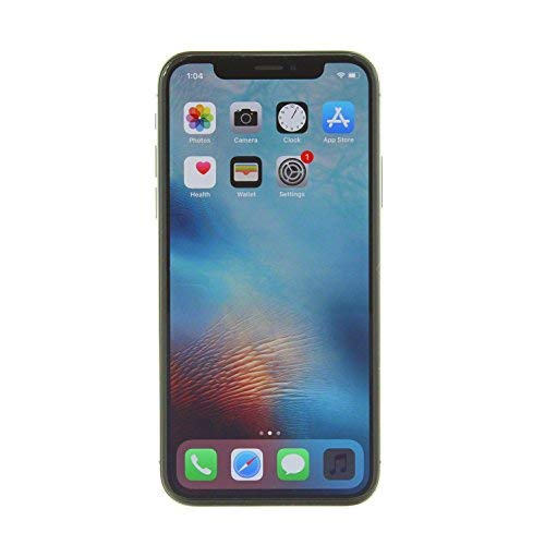 Apple iPhone X, GSM Unlocked, 64GB – Space Gray Renewed