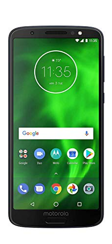 Verizon Smartphone – Renewed – Motorola Moto G6 MOTXT192512 – 32GB – BLACK