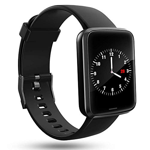 Lintelek Smart Watch, Smartwatch Blood Pressure Monitor, Fitness Tracker HR with Sleep Monitor Compatible with Apple, Samsung and Android Phones for Men, Women and Gifts