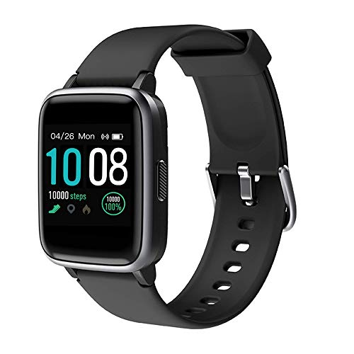 2019 New Smart Watch for Android iOS Phones, Activity Fitness Tracker Health Exercise Smartwatch Pedometer Heart Rate Sleep Monitor IP68 Waterproof Compatible with Samsung Apple iPhone for Men Women