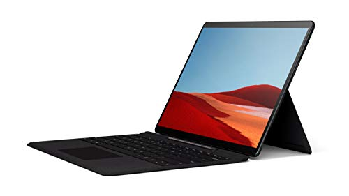 256GB Solid State Drive – Microsoft SQ1 – Matte Black – WiFi + 4G LTE – 16GB Memory – 13″ Touch-Screen – NEW Microsoft Surface Pro X