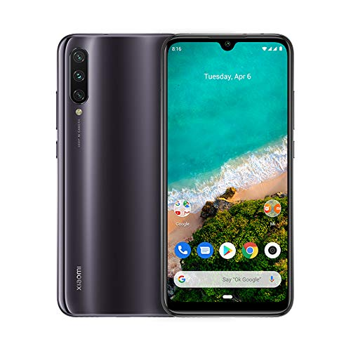 International Global Version Kind of Grey – Xiaomi Mi A3 64GB + 4GB RAM, Triple Camera, 4G LTE Smartphone
