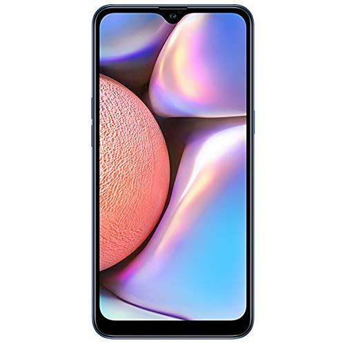 Samsung Galaxy A10s 32GB, 2GB RAM 6.2″ HD+ Infinity-V Display, 13MP+2MP Dual Rear Camera+8MP Front Facing Camera- 4G LTE Dual SIM GSM Factory Unlocked A107M/DS Latin Specs M Blue, Dual SIM