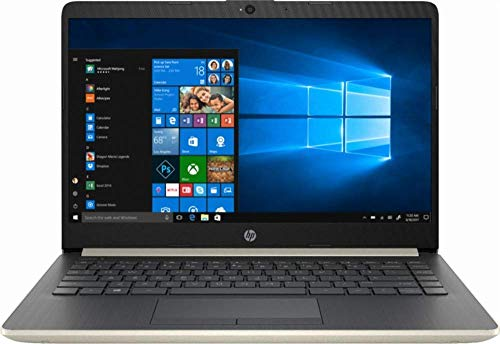 2019 HP 14, 14″ HD Thin & Light Flagship Laptop Computer, 7th Gen Intel Core i3-7100U 2.40GHz, 4GB DDR4 RAM, 128GB SSD, WiFi, Bluetooth, USB 3.1 Type-C, HDMI, Stereo Speakers, Windows 10