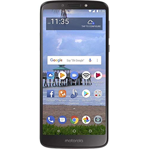 XT1920DL US Warranty Gray – GSM + Verizon Factory Unlocked 4G LTE Smartphone – Motorola Moto E5 16GB, 2GB 5.7″ Display, 4000 mAh All Day Battery, FM radio