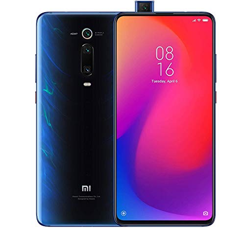 US & Global 4G LTE International Version Glacier Blue – Xiaomi Mi 9T Pro 128GB, 6GB RAM 6.39″ Display, Snapdragon 855, AI Rear Triple Camera, Dual SIM GSM Factory Unlocked