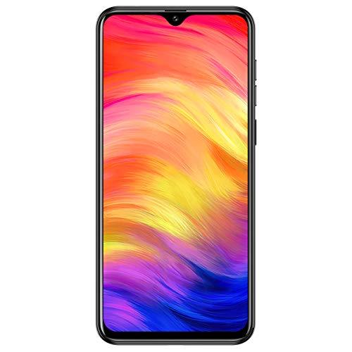 Black – Unlocked Smartphone, Ulefone Note 7 2019 Triple Rear Camera 3G Unlocked Cell Phones, Triple Card Slots, 6.1″ Waterdrop Full-Screen Dual SIM Android Phone, 3500mAh, Face Unlock, US Version