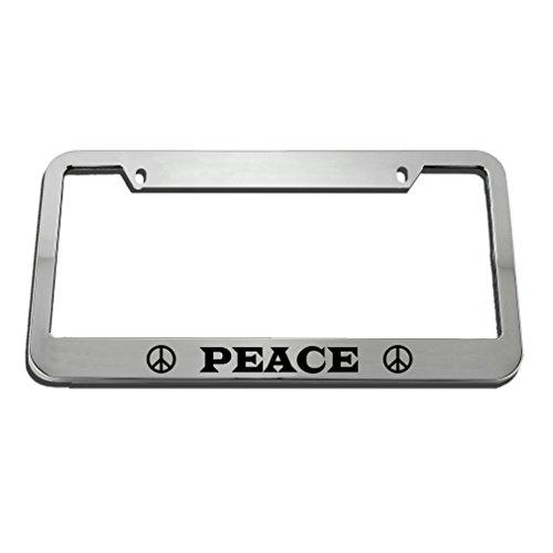 Top 10 Peace License Plate Frame – License Plate Frames