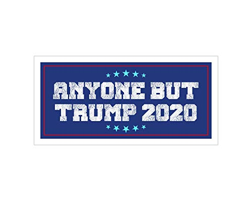 Top 10 Anyone but Trump 2020 Car MAGNET – Bumper Stickers, Decals & Magnets