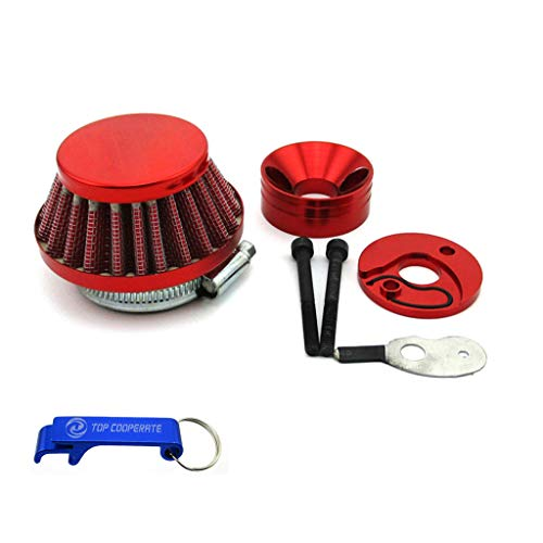 Top 9 44mm Air Filter Red – Powersports Air Filters