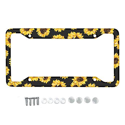 Top 10 Sunflower License Plate Frame – License Plate Frames