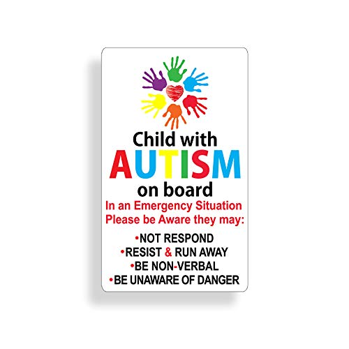 Top 10 Autism Chrome Emblem – Bumper Stickers, Decals & Magnets
