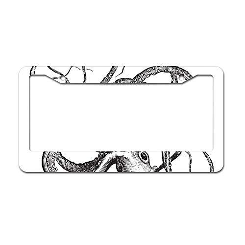 Top 10 Octopus License Plate Frame – License Plate Frames