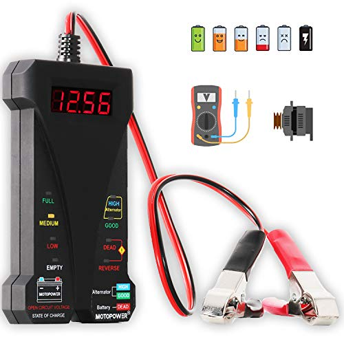 Top 10 12 Volt Battery Meter – Battery Testers