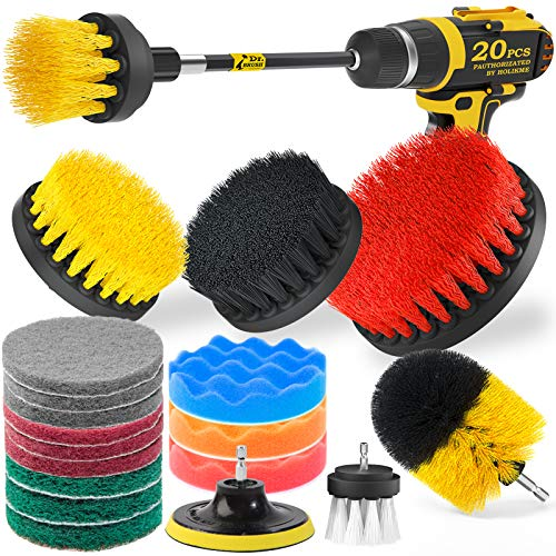Top 10 Drill Brush Attachment Set – Household Cleaning Brushes