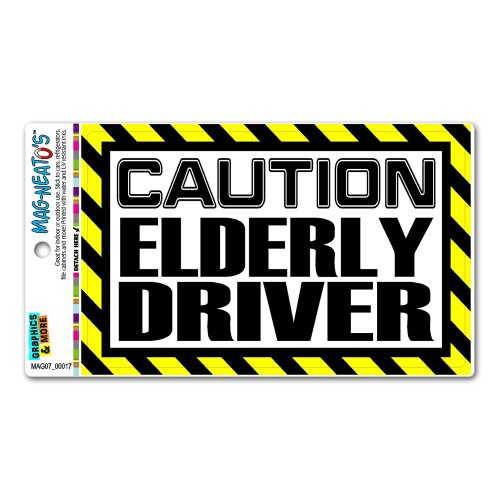 Top 10 Elderly Driver Magnet For Car – Bumper Stickers, Decals & Magnets