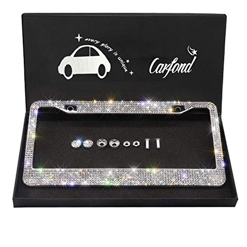Top 10 Crystal License Plate Frame Swarovski – License Plate Frames