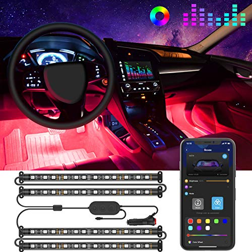 Top 10 Feet Lights for Car – Automotive Neon Accent Light Kits