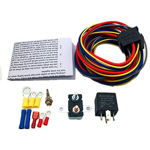 Top 8 Fuel Pump Relay – Automotive Replacement Electrical Wiring Harnesses