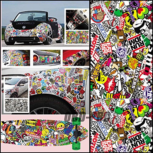 Top 8 Graffiti Car Wrap – Bumper Stickers, Decals & Magnets
